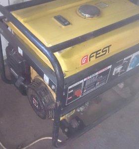 Бензогенератор 6.5 кВт