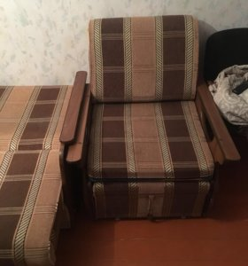 Диван и кресло +диван