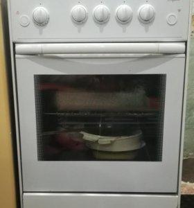 Газовая плита+кухонный гарнитур (6 предметов)