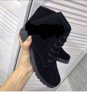 Ботинки женские зимние новые в коробках