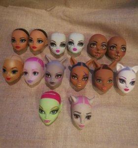 Головы для кукол монстер хай