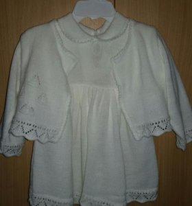 платье на девочку 1 год.