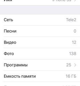 Продам iPhone 5s 16 gb space gray