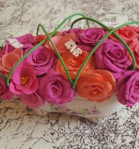 Ванночка роз))