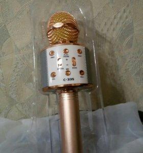 C-335 Беспроводной Bluetooth караоке микрофон