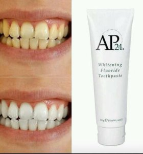 Nu Skin отбеливающая зубная паста AP24