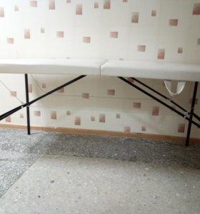 Массажный стол, кушетки, этажерочки