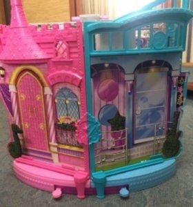 Дом и сцена для принцесс Ever After High новый