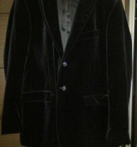 Пиджак мужской, 56 размера, велюр.