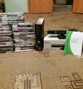XBOX 360 +50 игр+Kinect
