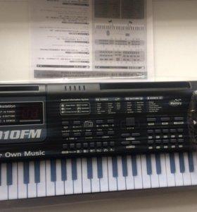Детский синтезатор с fm радио новый