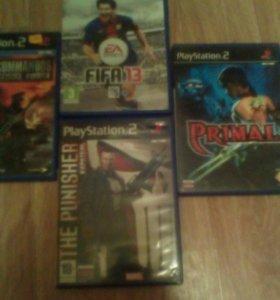 Игры для PlayStation 2 ( 4 диска)
