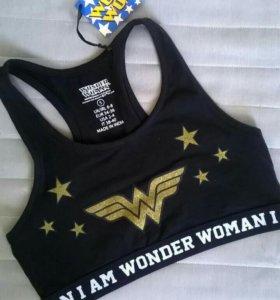 Топ Wonder woman укороченный