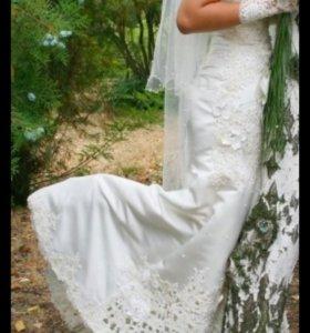 Красивое свадебное платье, продаю или дам в прокат