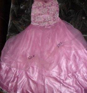 Нарядное платье (топ+юбка)