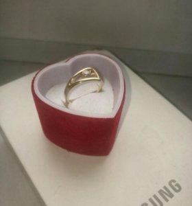 Золотое кольцо 585проба