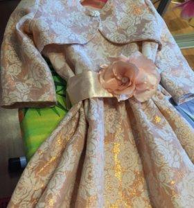 Платье и болеро рост 116