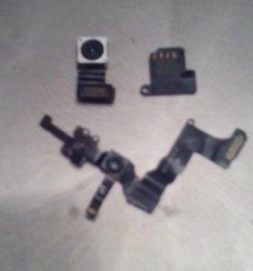Шлейф,камера и динамик iphone 5s