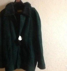 Куртка подростковая из натурального меха, новая