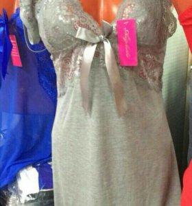 Комплект(сорочка+стринги)
