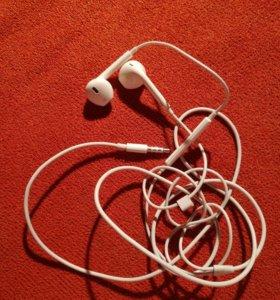 Оригинал iphone гарнитура ear pods