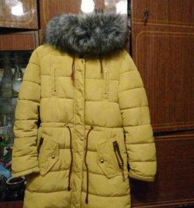 Пальто зима р. 42-44 в хорошем состояние.