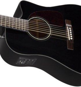 Электро-акустика Fender CD-140 black SCE