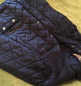 Темно-синяя куртка Next