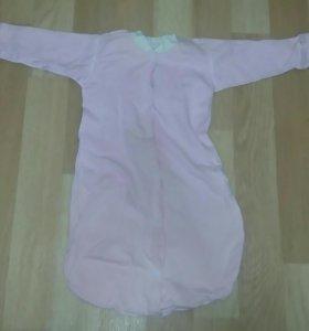 Мешки для сна для новорожденных.