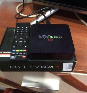 Приставка для просмотра IPTV и смарт тв