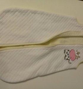 Детский спальный мешок и боди