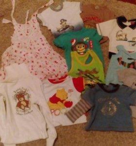 Детская одежда пакетом +подарок 🎁