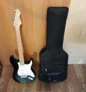 Эл. гитара RockWood by Hohner + чехол + ремень