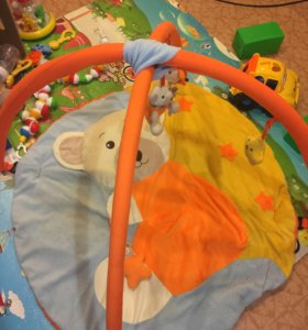 Развивающий коврик и балдахин