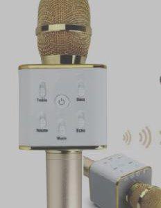 Блютуз микрофон Q7