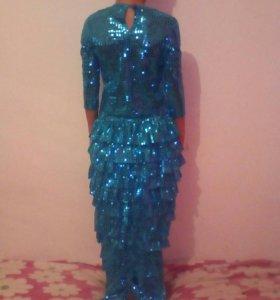 Новогодний костюм русалочка