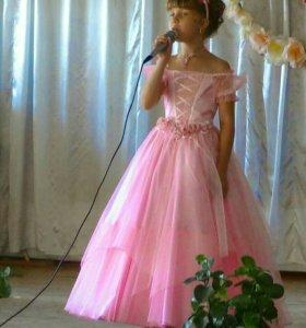 Платье для принцессы 8-10 лет