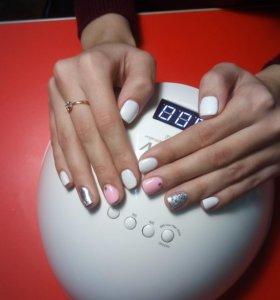 Маникюр,дизайн ногтей,шеллак.