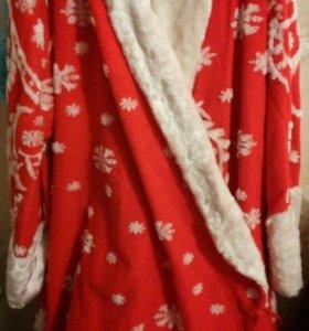 Карнавальные костюмы дед-мороз и снегурочка
