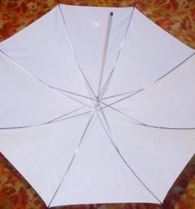 Зонт Hensel белый на просвет Umbrella 105 см