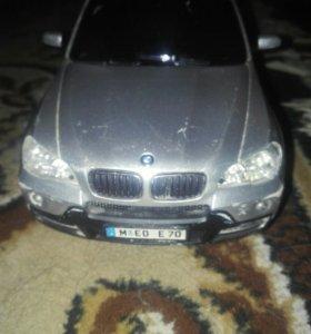 BMW X5 на радиоуправлении.