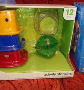 Новые игрушки tiny love, tolo