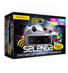 Цифровая приставка SELENGA T60 новый!