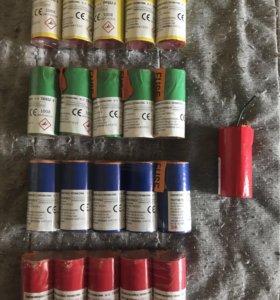 Цветные дымы FONTANNA DYMNA для фотосессий