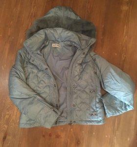 Пуховик куртка саваж, 42-44