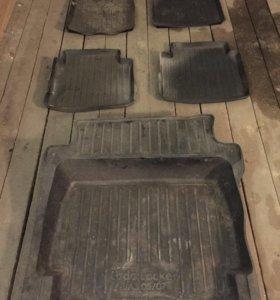 Комплект ковриков для ВАЗ 2105/2107 седан