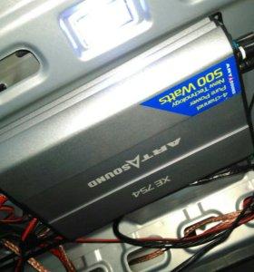 Продаю.4 канальный усилитель art sound xe-754