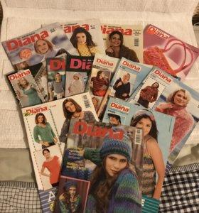 """Журналы по вязанию маленькая """"Diana"""""""