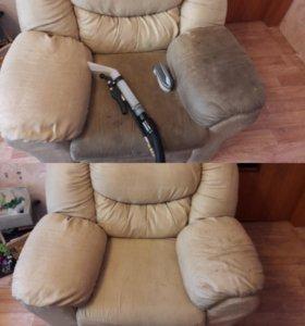 Химчистка диванов матрасов ковров на дому