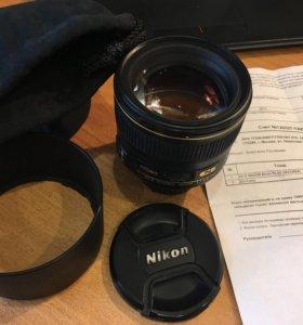 Nikon  85 1,4G Af-s